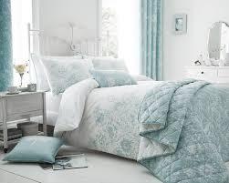 fl border duvet cover with pillowcase s set cushion in duck egg