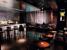 commercial bar lighting. Black-themes-color-restaurant-inteiror-with-beautiful-lighting- Commercial Bar Lighting