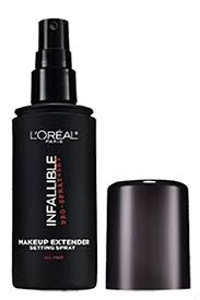 l oreal paris cosmetics infallible pro spray and makeup extender setting spray travel size 30 ml 1 0 fluid ounce
