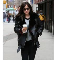 dakota johnson black fur biker leather jacket 1000x1059 jpg