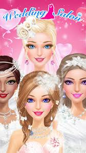 my wedding day sweet bride spa center dress hair and makeup salon game