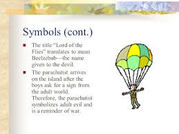 symbolism in lord of the flies ppt video online  symbols cont the title lord of the flies translates to mean beelzebub