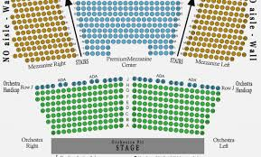 Dr Phillips Performing Arts Center Seating Chart 15 Abiding Gershwin Theatre Seating Chart View