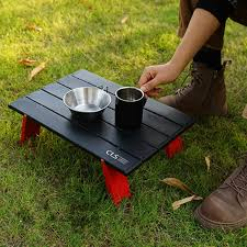 <b>Outdoor Folding Table Beach</b> Camping Backpacking Portable Table ...