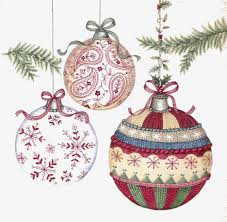 Hand Decorated Christmas Balls Cartoon Pattern Knitting Pattern Christmas Ball Handpainted 50