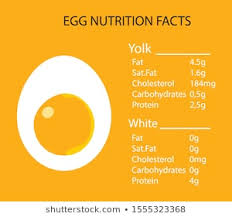 Chicken Egg Nutrition Chart Egg Nutritional Value Images Stock Photos Vectors