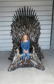 life size iron throne i won a life size replica of the iron throne daughter for scale