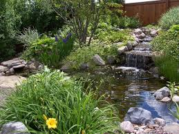Small Picture Fantastic Waterfall And Natural Plants Around Pool Like Pond