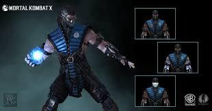 notify subzero. Mortal Kombat X - Subzero Costume B By Sticklove Notify O