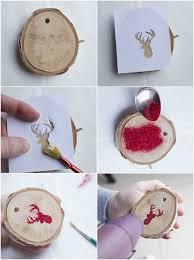 Baumschmuck Basteln Naturmaterialien Weihnachten