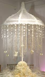 elegant wedding reception chandelier centerpiece