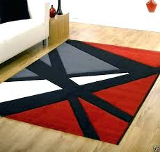 furniture s red and black area rugs grey white