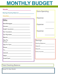 financial planner template monthly financial planner template and personal finance excel