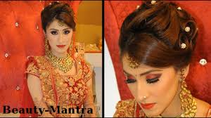 indian wedding makeup gorgeous reception look plete hair and makeup