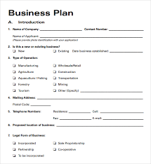 Sample Business Plan Outline New Business Plan Template Free Rome Fontanacountryinn Com