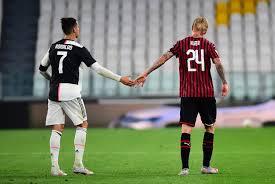 Ювентус» сыграл вничью с «Миланом» и вышел в финал Кубка Италии - Газета.Ru