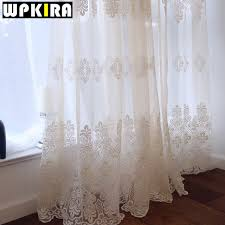 european embroidered sheer curtains for living room window curtains for the bedroom lace luxury embroidery curtain