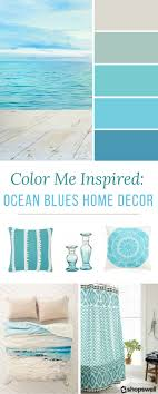 Ocean Inspired Bedroom Color Me Inspired Ocean Blues Home Decor Inspiration Paint