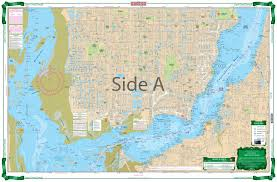 Nautical Charts Cape Coral Florida Cape Coral Canals Large Print Navigation Chart 7e