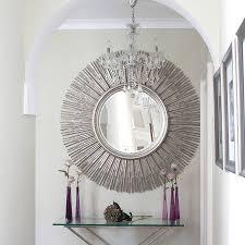 mirror wall decor circle panel: art decor wall mirror home decore inspiration