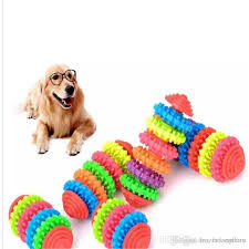 2019 dog toys chews durable rubber pet dog puppy cat dental teething healthy teeth gums chew toy 2018112004 from frozenkingdom 204 03 dhgate