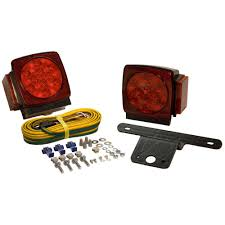 towing lights wiring towing accessories towing trailers led submersible trailer lamp kit for under 80 in applications