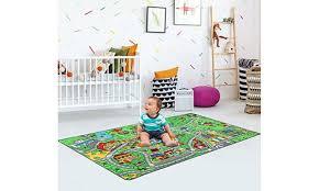 n play extra large non slip city life kids playmat rug 79 x