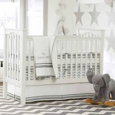 baby nursery essentials white hanging swing 2018 with grey and room chevron baby bedding