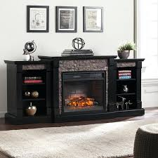 full image for electric fireplace entertainment center black friday novara media console loft furnishings satin infrared