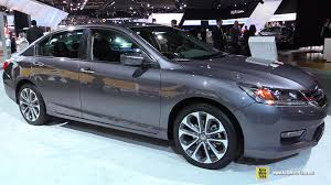 2015 honda accord interior. 2015 honda accord sport exterior and interior walkaround detroit auto show youtube a