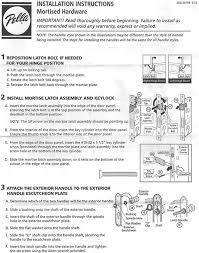 pella installation instructions for mortised hardware by peter robertson