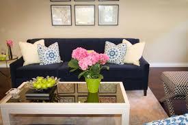 Navy Blue Furniture Living Room Navy Blue Sofa Mjschiller