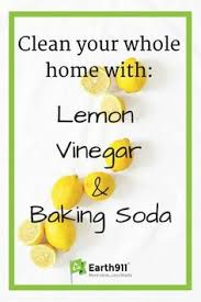 Clean Your Whole House With Vinegar, Baking Soda And Lemon
