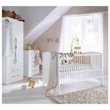 If you want a modern nursery co ordinate the wardrobe cot and