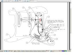 The Black Strat Wiring Diagram