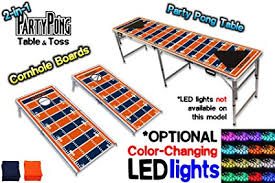 Amazon.com : 2-in-1 Cornhole Boards & Beer Pong Table - Denver ...