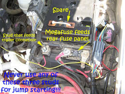 wierd electrical issue lots of stuff stopped working today 2004 Cadillac SRX at 2005 Gmc Xuv Fuse Box