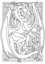 Dragon Coloring Pages For Adults Free Dragon Coloring Pages For