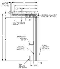 low headroom clearance garage door rolling gate nj nyc high sd rytec jpg rytec low head room coiling door jpg
