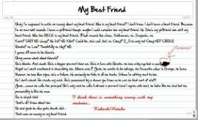 i need a essay on my best friend my best friend essay for class 3 class 2 point wise creative