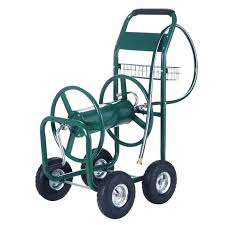 garden hose reel cart. Garden Hose Reel Wheels Cart Costco