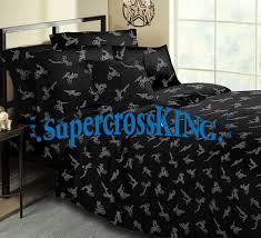no fear motocross bedding twin