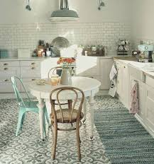 mint green tolix chair with thonet bistro in this kitchen la redmint