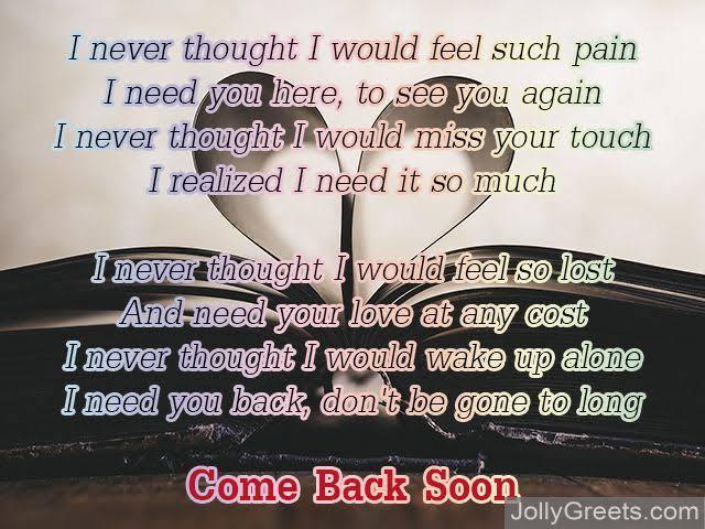 love poem for him missing you