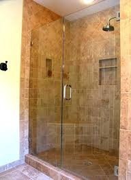 showers shower door ideas no stand up bathroom sm