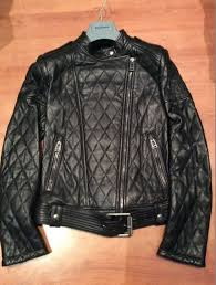 womens belstaff clothing very rare las quilted leather biker jacket hot cake mt5673