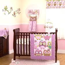 owl crib set purple and lavender owls baby girls ed birds themed crib bedding set owl owl crib set