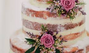 10 Tips For Naked Wedding Cakes
