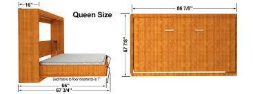 king size murphy bed plans. Divine A Queen Size Walldimensio Dimension And Horizontal Easy Diy Murphy Sizes Bed Plus King Plans