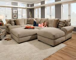large sectional with chaise deep seated sectional couches